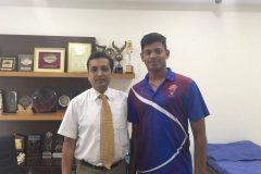 Ankit Rajpoot treated by Dr. Prateek for knee problem