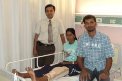 Bincy m Krishna basketball player treated for ACL surgery by Dr Prateek