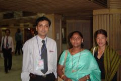 Dr. Prateek with Mary Kom  Karnam Malleswari