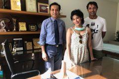 Dr. Prateek Gupta treated Chitrangada Singh Indian actress for ACL