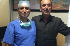 Ghulam Nabi Azad with Dr Prateek Post Sonia Gandhi_s operation