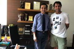 Jyoti Randhawa Indian proffesional golfer and Dr prateek gupta