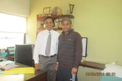 Virender Sehwag treated for knee problem by Dr. Prateek