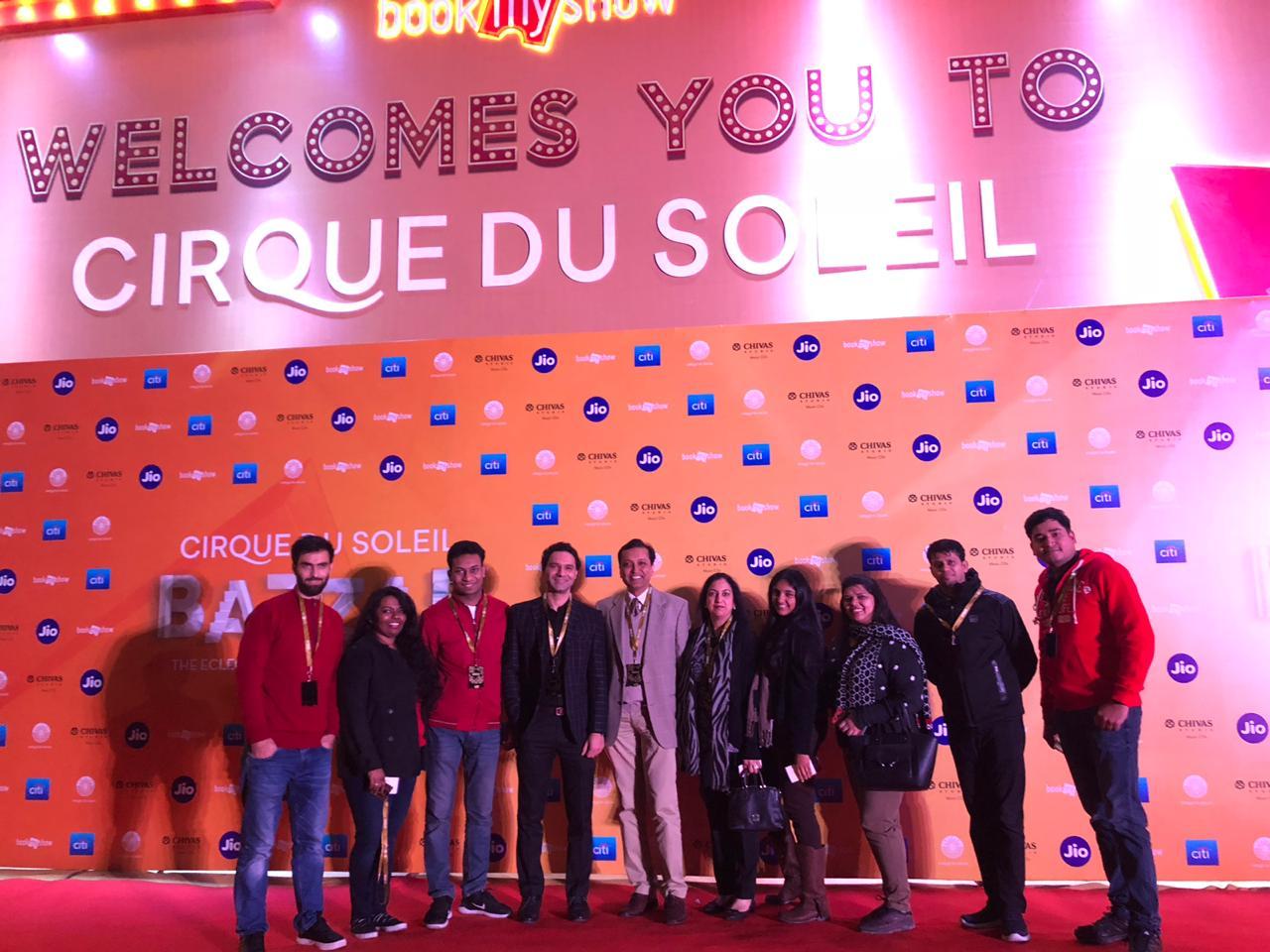 Bazzar Cirque du Soleil